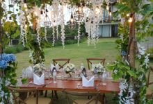 Table Set Up by Excelsior Bali Catering