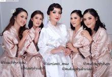 Ariella in Paris bridal robe by Haeng Bok Hae (Happiness)