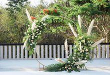 WEDDING CEREMONY by AMAN VILLAS NUSA DUA