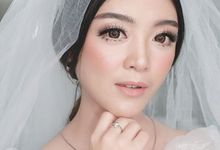 Wedding morning look by Sandra Bridal and Makeup Academy