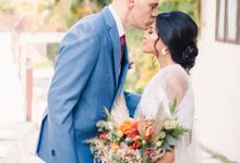 Sam & Lara Wedding at Canggu Bali by Catalina Flora