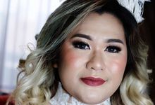 Tania&Jojo's Wedding Family Makeup by Devina Martina Sulam Alis
