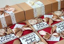 Tyas & Risal Bridesmaid Hamper by Love Lulu Box