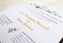 Wedding Invitation of Neutron & Jane by Prima Card