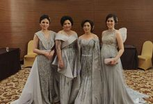 Family dresses in Ash Grey by Sisca Zh