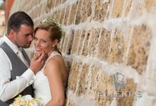 Beach wedding of Rien & Monique by Gamos Crete