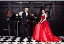 prewedding photoshoot by Vidi Daniel Makeup Artist managed by Andreas Zhu