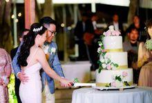 Wedding Dinner of Christian & Natalia by Puri Santrian Resort