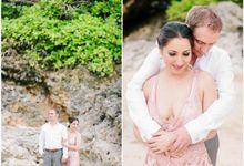 Beautiful weddings couple from USA by Yulan Make Up Artist Bali
