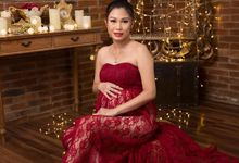 Maternity Photoshoot for Ms Vera by Erliana Lim Makeup Artist