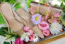 Lovely Bag & Shoes by House of Raline Wedding Hampers