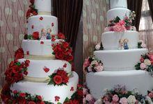wedding cake by VeNu Cake