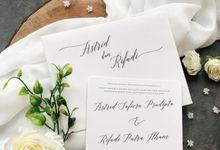The Wedding Of Astrid & Rifadi by SentimeterCard