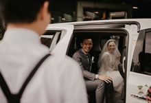 Randy & Merriska's Wedding by sapphire wedding car