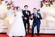 MC Wedding of Dani & Nervi  by Elbert Yozar