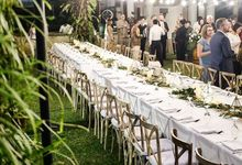 Lee and Joandri Wedding by Petunia Decor