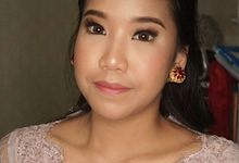 Sister of the bride  by deristyana.makeup