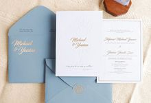Wedding Invitation of Micahel & Yessica by Prima Card