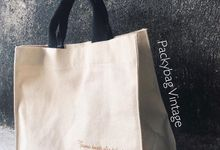 Bagas & Zidna Wedding (Totebag mini BEST SELLER) by Packy Bag Vintage