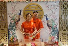 Sangjit ceremony of Victor & Juliannie Fransisca by ID Organizer