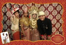 Traditional Palembang Wedding by Little Panda Photobooth