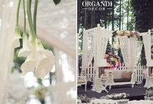 Tahura - Orin & Diyyo's Wedding by Organdi Decor