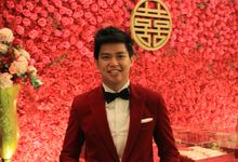 MC Sangjit Ting Jing Engagement Fairmont Hotel Jakarta - Anthony Stevven by Anthony Stevven