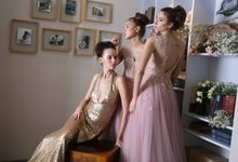 After Party Gown by DHITA bride