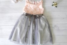 Satin and Tulle Dress by Dear Mimi - Flower Girl's Dress