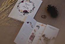 Wedding Invitation Flower Yuni & Dandy by Sae Creative