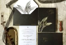 Nadia & Adil Black Suite by Duarana Design & Finery