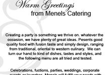 Brochure by MENELS Catering