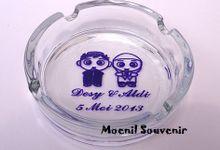 Gelas, Mug, Asbak kaca :) by Moenil Souvenir