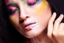 Beauty & Art Makeup Photoshoot by Calenia Letitia Makeup Artist