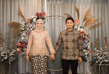 The Engagement of Dias & Aulya by La Societa