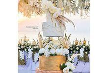 Wedding cake 3 by sugar legacy