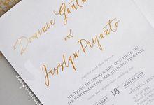 Wedding Invitation of Dominic & Jesslyn by Prima Card