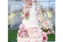 Wedding cake 3 by sugar legacy