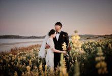 Joonsu and Mijin in Auckland by Queenstown Pre-Wedding Specialist: James Hirata