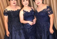Mom  and sister gown by SAVORENT Gown Rental