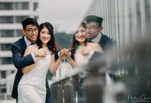 Tor & Sarah Wedding Photography Singapore at Aura by Mike Chen Photography