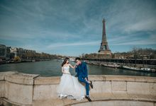 Pre Wedding in Paris, France by GMPS Wedding Film and Photography
