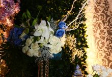 BLUE-WHITE-CHINOISERIE by Yulika Florist & Decor