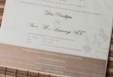 Undangan Pernikahan Dea & Anro by Mitra Wedding