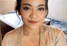 Makeup and hairdo for graduation by me  by deristyana.makeup
