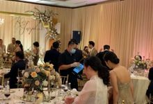 MC Wedding Intimate at Jade Room Fairmont Hotel Jakarta by Anthony Stevven by Anthony Stevven