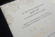 Shaun & Christie by Vinas Invitation