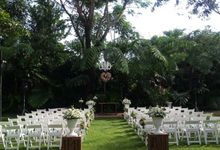 Gastronomic wedding in rural setting of Antonio's Tagaytay by ALTUZ events
