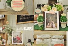 THE WEDDING OF WILLIAM & STEFFI by Hello Flair