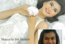 Wedding Makeup & Dress by Ucie Elisabeth Bridal